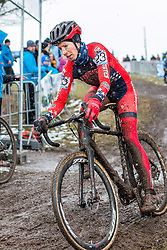 Rachel Lloyd (USA), Women Elite, Cyclo-cross World Championships Tabor, Czech Republic, 31 January 2015, Photo by Pim Nijland / PelotonPhotos.com