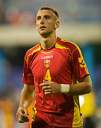 PODGORICA, MONTENEGRO - Wednesday, August 12, 2009: Montenegro's Savo Pavicevic during an international friendly match at the Gradski Stadion. (Photo by David Rawcliffe/Propaganda)