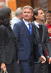May 29, 2019 - Vienna, Austria - David Coulthard attending the funeral of Formula 1 racing driver Niki Lauda at St Stephan Cathedral on May 29 2019 in Vienna, Austria  (Credit Image: © Famous/Ace Pictures via ZUMA Press)