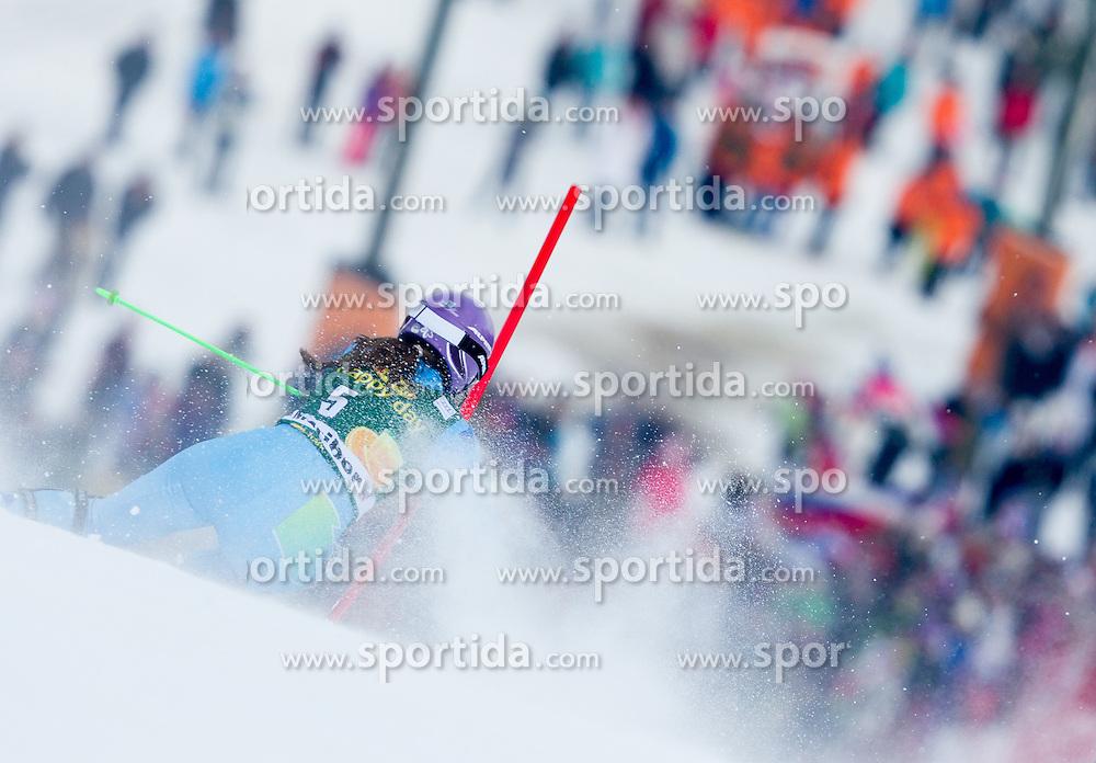 "MAZE Tina (SLO) competes during 1st Run of FIS Alpine Ski World Cup 7th Ladies' Slalom race named ""49th Golden Fox 2013"", on January 27, 2013 in Mariborsko Pohorje, Maribor, Slovenia. (Photo By Vid Ponikvar / Sportida.com)"