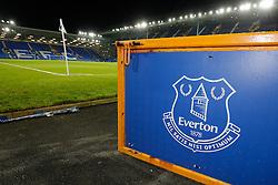 General View of an Everton club crest inside Goodison Park - Photo mandatory by-line: Rogan Thomson/JMP - 07966 386802 - 03/12/2014 - SPORT - FOOTBALL - Liverpool, England - Goodison Park - Everton v Hull City - Barclays Premier League.