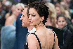 © Licensed to London News Pictures. 04/05/2017. London, UK. MICHAEL FASSBENDER and KATHERINE WATERSTON attend the Alien: Covenant world film premiere. Photo credit: Ray Tang/LNP
