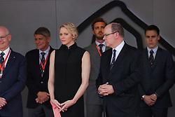 May 26, 2019 - Monte Carlo, Monaco - xa9; Photo4 / LaPresse.26/05/2019 Monte Carlo, Monaco.Sport .Grand Prix Formula One Monaco 2019.In the pic: S.A.S La Princesse Charlene De Monaco and S.A.S. Prince Albert II (Credit Image: © Photo4/Lapresse via ZUMA Press)
