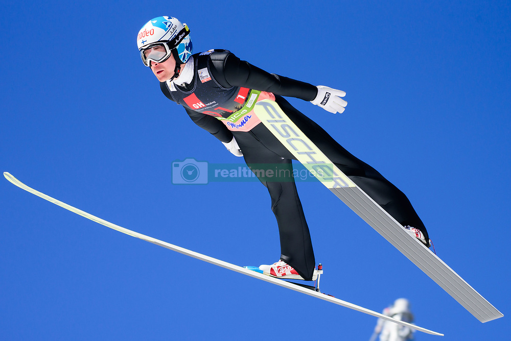 March 23, 2019 - Planica, Slovenia - Jarkko Maatta of Finland in action during the team competition at Planica FIS Ski Jumping World Cup finals  on March 23, 2019 in Planica, Slovenia. (Credit Image: © Rok Rakun/Pacific Press via ZUMA Wire)