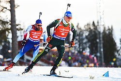 March 10, 2019 - –Stersund, Sweden - 190310 Erik Lesser of Germany during the Men's 12,5 km Pursuit during the IBU World Championships Biathlon on March 10, 2019 in Östersund..Photo: Petter Arvidson / BILDBYRÃ…N / kod PA / 92255 (Credit Image: © Petter Arvidson/Bildbyran via ZUMA Press)