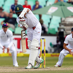 Durban South Africa - December 29, Hashim Amla (capt) of South Africa during the match between South Africa  and England day 4 of the 1st test , 29 December 2015. (Photo by Steve Haag) images for social media must have consent from Steve Haag