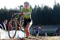 12-01-2014 WIELRENNEN: STANNAH NK CYCLOCROSS: GASSELTE<br /> Sophie de Boer wordt tweede op het NK<br /> &copy;2014-FotoHoogendoorn.nl