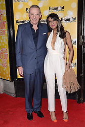 Carl Michaelson and Jackie St Clair attend Beautiful - The Carole King Musical at The Aldwych Theatre, The Aldwych, London on Tuesday 24 February 2015 February 2015