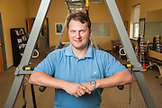 Patrick Meyers, owner at Apex's Landis Lakes Clinic, photographed Thursday, Sept. 4, 2014 in Louisville, Ky., for M.D. Update. (Photo by Brian Bohannon)