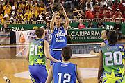 PARMA 16 FEBBRAIO 2011<br /> BASKET ALL STAR GAME FEMMINILE<br /> NAZIONALE ITALIANA FEMMINILE<br /> NELLA FOTO ELISA SILVA<br /> FOTO CIAMILLO