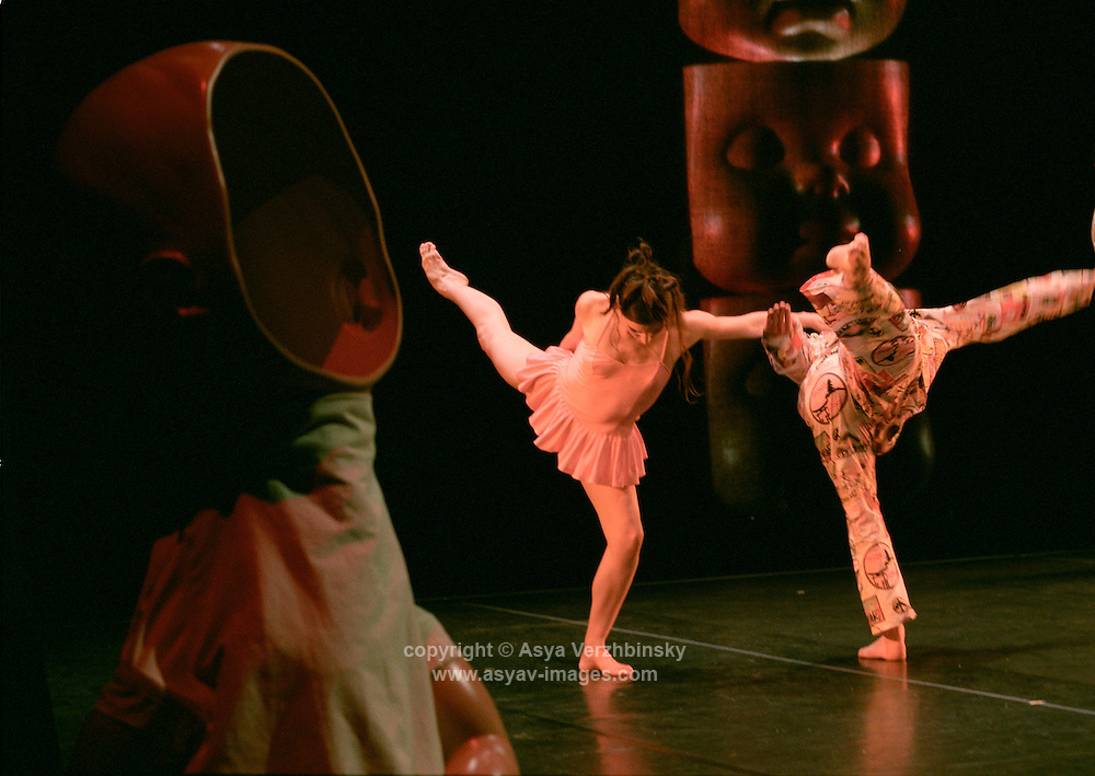 "Stephen Petronio Company in ""an Island of Misfit Toys"", as part of Dance Umbrella (25 year anniversary year)"