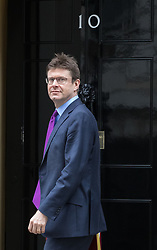 Downing Street, London, March 14th 2017. Business Secretary Greg Clark arrives at Downing Street, London, for the weekly meeting of the UK cabinet, following yesterday's vote in Parliament to allow Prime Minister Theresa May to go ahead with triggering Article 50 beginning the Brexit process of withdrawing from the European Union.