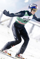 February 8, 2019 - Lahti, Finland - Andreas Wellinger participates in FIS Ski Jumping World Cup Large Hill Individual training at Lahti Ski Games in Lahti, Finland on 8 February 2019. (Credit Image: © Antti Yrjonen/NurPhoto via ZUMA Press)