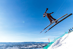 18.03.2018, Vikersundbakken, Vikersund, NOR, FIS Weltcup Ski Sprung, Raw Air, Vikersund, Finale, im Bild Jakub Wolny (POL) // Jakub Wolny of Poland during the 4th Stage of the Raw Air Series of FIS Ski Jumping World Cup at the Vikersundbakken in Vikersund, Norway on 2018/03/18. EXPA Pictures © 2018, PhotoCredit: EXPA/ JFK