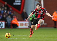 Picture by Tom Smith/Focus Images Ltd 07545141164<br /> 26/12/2013<br /> Harry Arter of Bournemouth takes a shot during the Sky Bet Championship match at the Goldsands Stadium, Bournemouth.