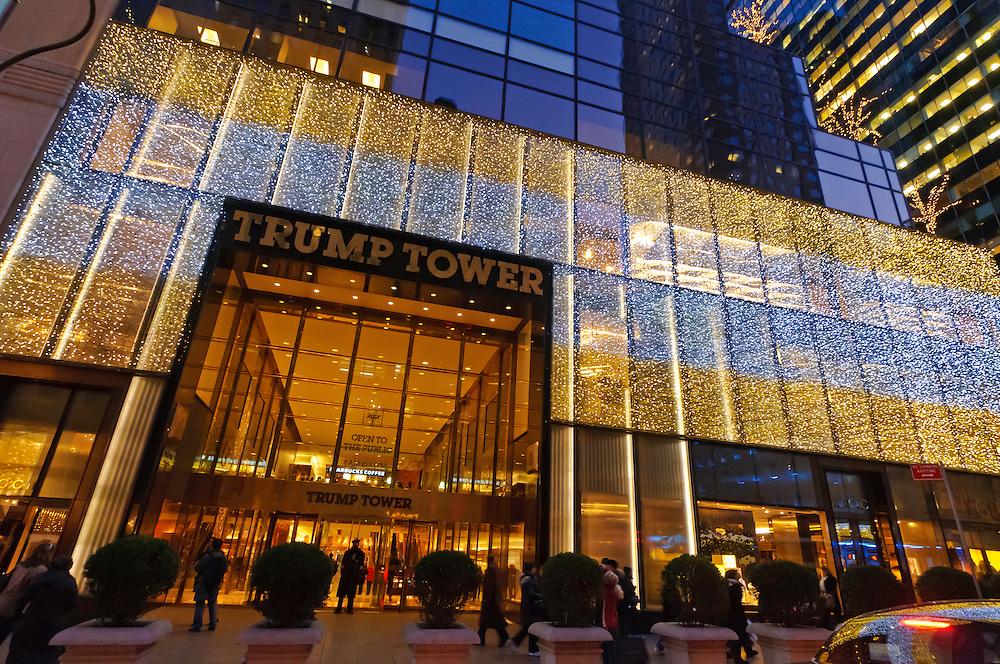 Trump Tower, Manhattan, New York City, New York, USA