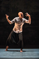Fusing dance, storytelling, interactive animation and specially composed music, Chotto Desh is a bewitching dance-theatre tale of a young man's dreams and memories from Britain to Bangladesh, created for children and their families to enjoy together.<br /> <br /> The first ever family show created by Akram Khan, one of Britain's most respected choreographers and dancers. Chotto Desh is reworked from his Olivier Award-winning autobiographical solo show DESH.<br /> <br /> Pictured: Dennis Alamanos