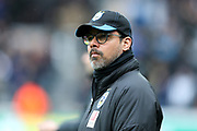 Huddersfield Town manager David Wagner during the Premier League match between Newcastle United and Huddersfield Town at St. James's Park, Newcastle, England on 31 March 2018. Picture by Craig Doyle.