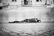 An eclectic collection of images taken from around the world. Often waiting for that decisive moment that helps encapsulate and paint the scene with a soft touch of humour, irony and juxtaposition. The <br /> traditional &lsquo;daytime sleep&rsquo;, &lsquo;schluff&rsquo; or &lsquo;siesta&rsquo; originated in Spain and was then quickly adopted in Latin-American culture. It has since gradually spread to every corner of the globe and often 'showcases' itself in an amusing array of positions, locations, timings and situations which visually shows us how the 'nature of sleeping' can really be interpreted in many different ways...