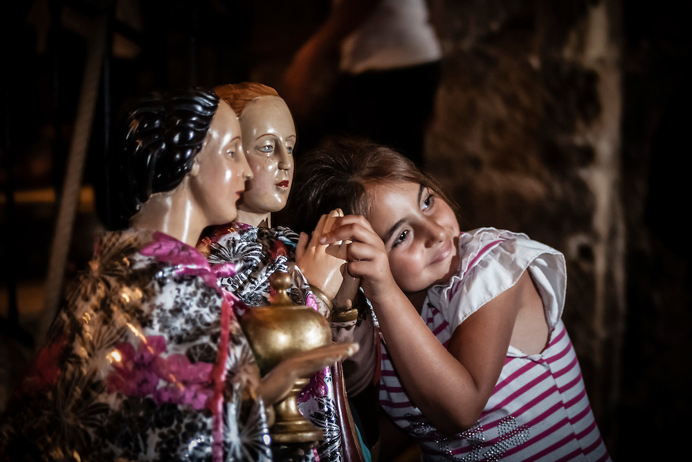 Every year, on 24/25 May, Roma people (Gypsies) are meeting in Saintes-Maries-de-la-Mer, Camargue, France, to venerate Saint Sarah and the Three Marys.<br />