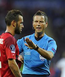 Referee Mark Clatenburg  - Photo mandatory by-line: Joe Meredith/JMP - Mobile: 07966 386802 12/08/2014 - SPORT - FOOTBALL - Cardiff - Cardiff City Stadium - Real Madrid v Sevilla - UEFA Super Cup