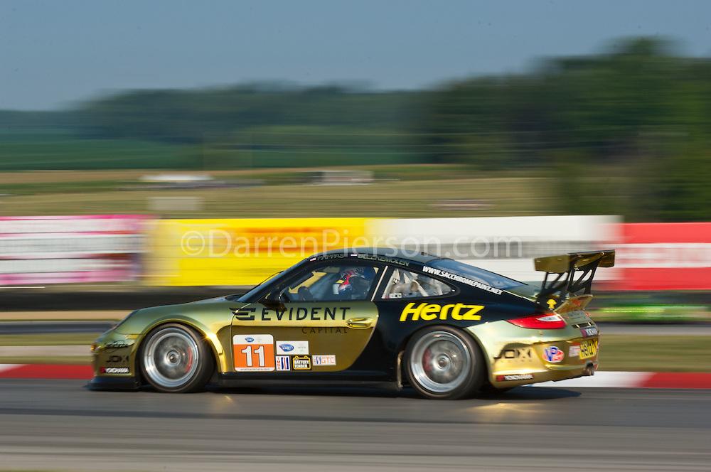 #11 JDX Racing Porsche 911 GT3 Cup: Timothy Pappas, Jeroen Bleekmolen