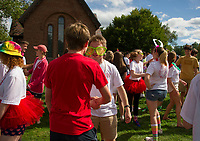 St Pauls School Playfair activities.  ©2019 Karen Bobotas Photographer