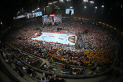 29.05.2016, Lanxess Arena, K&ouml;ln, GBR, EHC CL, KS Vive Kielce vs MVM Veszprem, Finale, im Bild Stadion&uuml;bersicht // during the EHF Championsleague final match between KS Vive Kielce vs MVM Veszprem at the Lanxess Arena in K&ouml;ln, Germany on 2016/05/29. EXPA Pictures &copy; 2016, PhotoCredit: EXPA/ Pressesports/ GARNIER ETIENNE<br /> <br /> *****ATTENTION - for AUT, SLO, CRO, SRB, BIH, MAZ, POL only*****