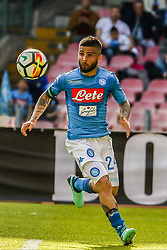 April 8, 2018 - Naples, Italy - Lorenzo Insigne (SSC Napoli)..during the Italian Serie A football SSC Napoli v Chievo Verona at S. Paolo Stadium..in Naples on April 08, 2018  (Credit Image: © Paolo Manzo/NurPhoto via ZUMA Press)