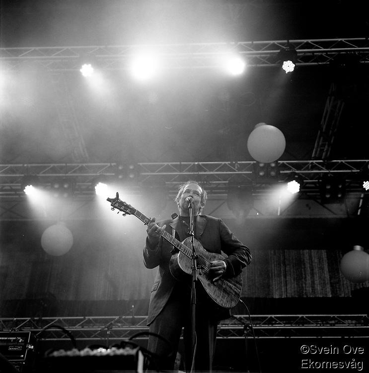 Ole Paus konsert på Midtsommerjazz 2013.<br /> Foto: Svein Ove Ekornesvåg