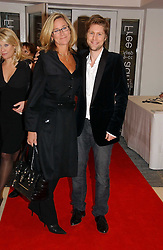 ANGELA AHRENDTS Chief Executive of Burberry and CHRISTOPHER BAILEY at a party to celebrate the 90th birthday of Vogue magazine held at The Serpentine Gallery, Kensington Gardens, London on 8th November 2006.<br /><br />NON EXCLUSIVE - WORLD RIGHTS