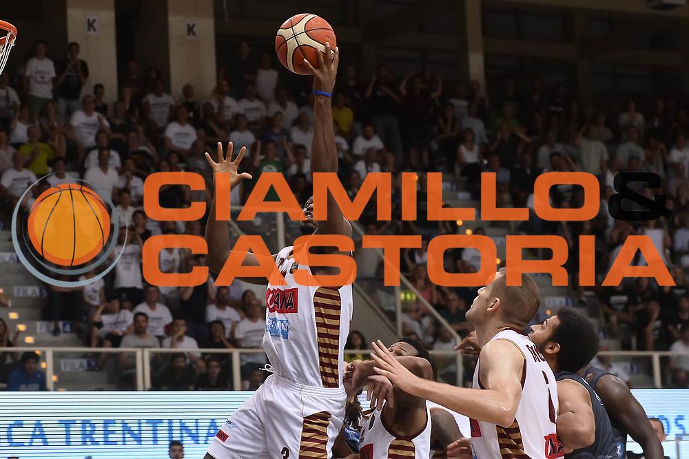 Ejim Melvin<br /> Dolomiti Energia Aquila Basket Trento - Umana Reyer Venezia<br /> Playoff Gara 4<br /> Lega Basket 2016/2017<br /> Trento 16/06/2017<br /> Foto Ciamillo-Castoria