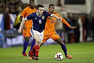 Scotland v Netherlands - 10 November 2017