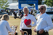 Picnics in the car park - Henley Festival is a boutique event over five days celebrating the best of UK & international music and arts with a programme from pop to world music, classical to jazz, blues to jazz musicians, where art, comedy and gastronomy share equal billing with music. Henley on Thames 05 July 2017