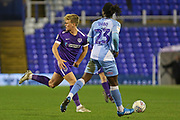 Portsmouth midfielder Cameron McGeehan in action during the EFL Sky Bet League 1 match between Coventry City and Portsmouth at the Trillion Trophy Stadium, Birmingham, England on 11 February 2020.