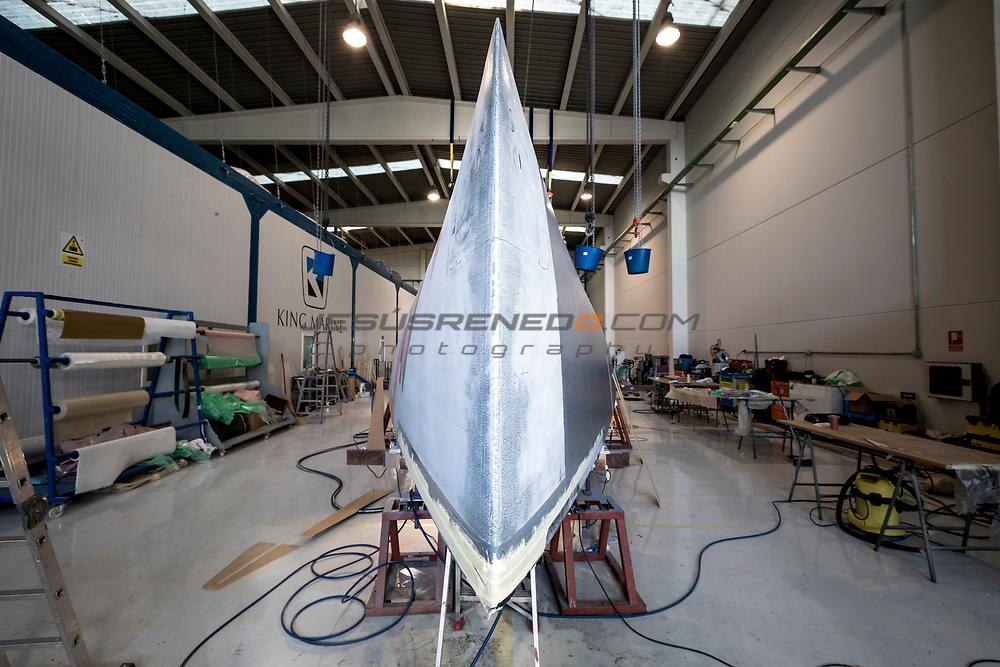 TP 52 Azzurra  2018. Building of the 2018 AZZURRA TP 52 in King Marine, Valencia