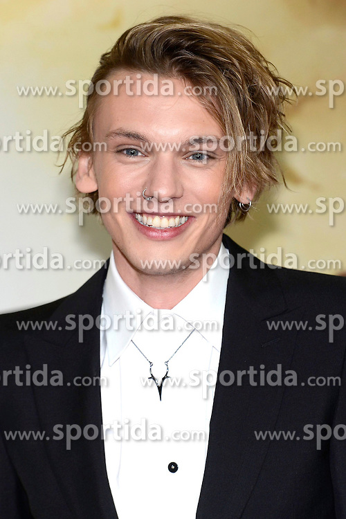 20.08.2013, Cinestar Sony Center, Berlin, GER, Europapremiere, Chronikern der Unterwelt, City of Bones, im Bild Jamie Campbell Bower // during photocall for the europepremiere of the movie City of Bones at the CineStar Sony Center in Berlin, Germany on 2013/08/20. EXPA Pictures &copy; 2013, PhotoCredit: EXPA/ Newspix/ Clemens Niehaus<br /> <br /> ***** ATTENTION - for AUT, SLO, CRO, SRB, BIH, TUR, SUI and SWE only *****