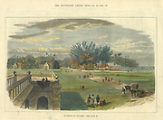Environs of Colombo, Illustrated London News. 1882