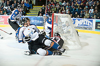 KELOWNA, CANADA, NOVEMBER 25: the Kootenay Ice visit the Kelowna Rockets  on November 25, 2011 at Prospera Place in Kelowna, British Columbia, Canada (Photo by Marissa Baecker/Shoot the Breeze) *** Local Caption ***