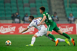 Jasmin Mešanović of Maribor vs Jan Andrejašič of Olimpija during Football match between NK Olimpija and NK Maribor in 23rd Round of Prva liga Telekom Slovenije 2018/19 on March 16, 2019, in SRC Stozice, Ljubljana, Slovenia. Photo by Vid Ponikvar / Sportida
