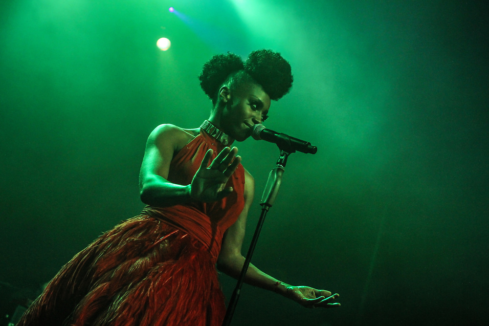 Skye Edwards of Morcheeba, in Los Angeles.