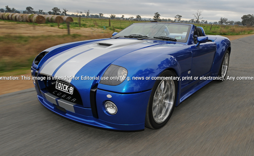 2010 Drb Cobra 540 Roadster Voodoo Blue Joel Strickland