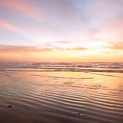 Sunrise over North Padre National Seashore, Texas.