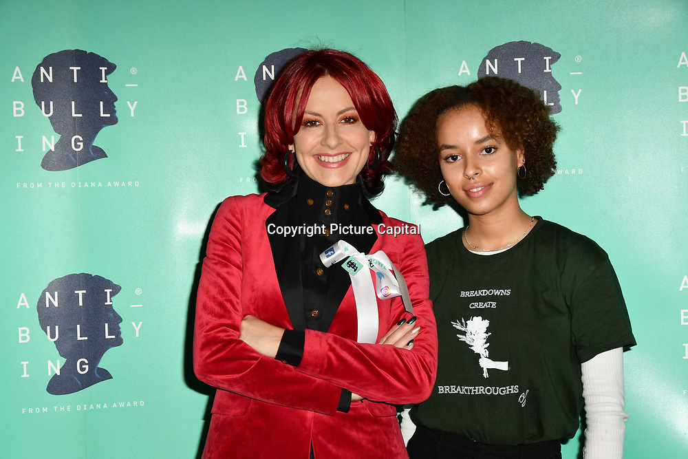 Carrie Grant and Talia Grant attend The Diana Award anti-bullying week at Alexandra Palace on 12 November 2018, London, UK.
