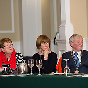 02.03.2017        <br /> Attending the Limerick City and County Councils Annual Tidy Towns Seminar 2017 at the Woodlands House Hotel Adare Co. Limerick were, Mary O'Hanlon, Secretary Listowel Tidy Towns, Ann Goggin and Deputy Mayor Cllr. Noel Gleeson. Picture: Alan Place