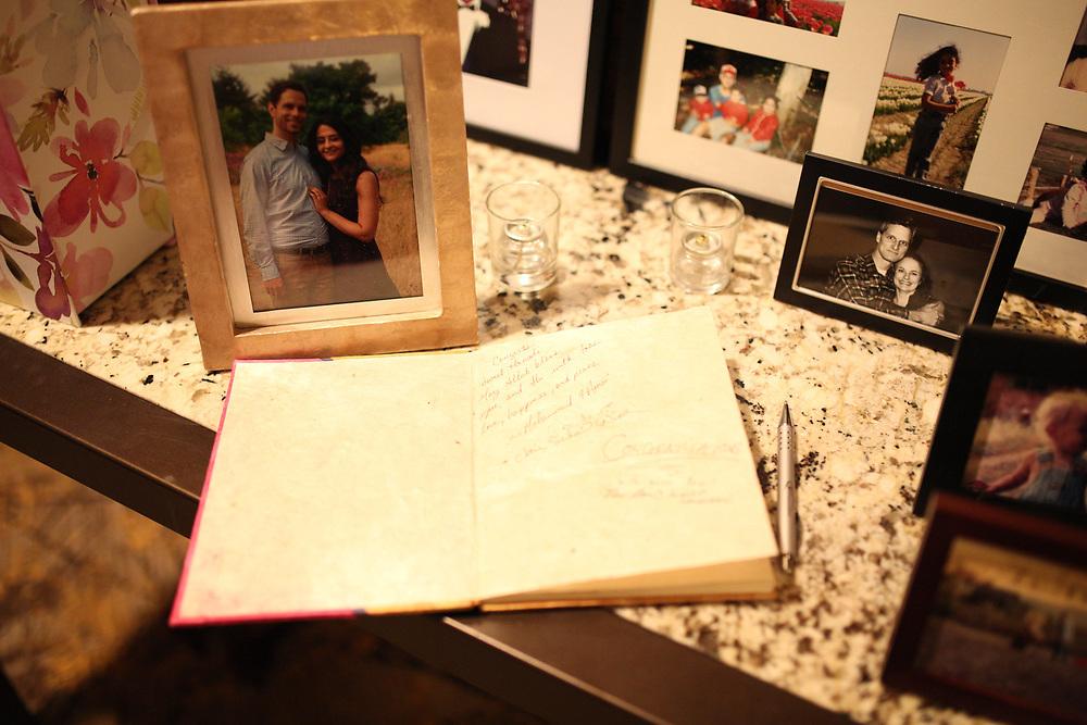 Seattle, WA - September 24, 2017<br /> <br /> Abe and Hanady wedding photos. Seattle, WA.