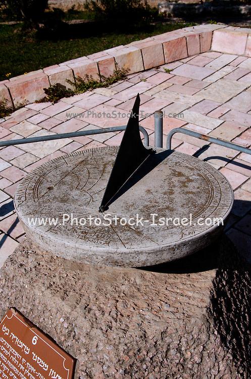replica of the Sundial from mahmudia mosque, Jaffa,  Israel, 1823