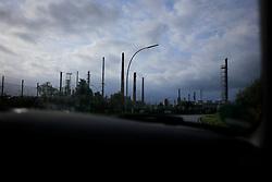 GERMANY HAMBURG 1SEP13 - Industrial landscape of the port facilities in Hamburg Wilhelmsburg.<br /> <br /> <br /> <br /> jre/Photo by Jiri Rezac<br /> <br /> <br /> <br /> © Jiri Rezac 2013