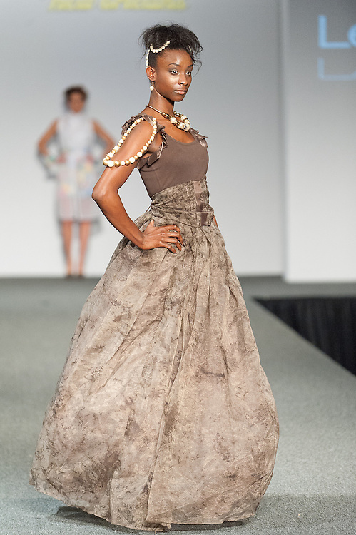 Designer Lenja Lassegue of South Florida showed her collection at New Orleans Fashion Week, Louisiana