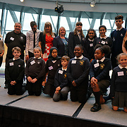 """City Hall, London, Uk, 29th June 2017. George Mitchell School, Whitehall Primary, Kelmscott School, Wyvil, Carterhatch Infant School """"silver Awards"""" of the City Hall awards at the Health and education experts celebrate London's healthiest schools."""